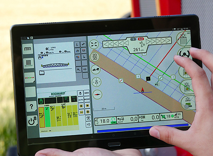 Tablet mit Smart Command
