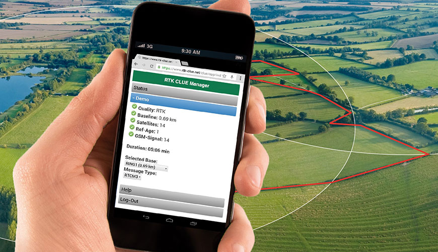 RTK CLUE Manager