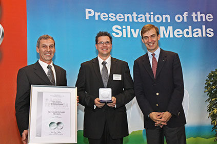 Silbermedaille Agritechnica